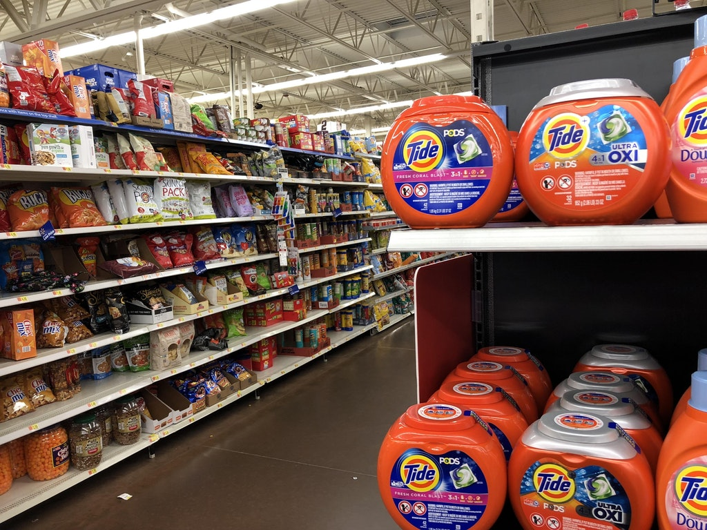 Tide Pod in supermarket