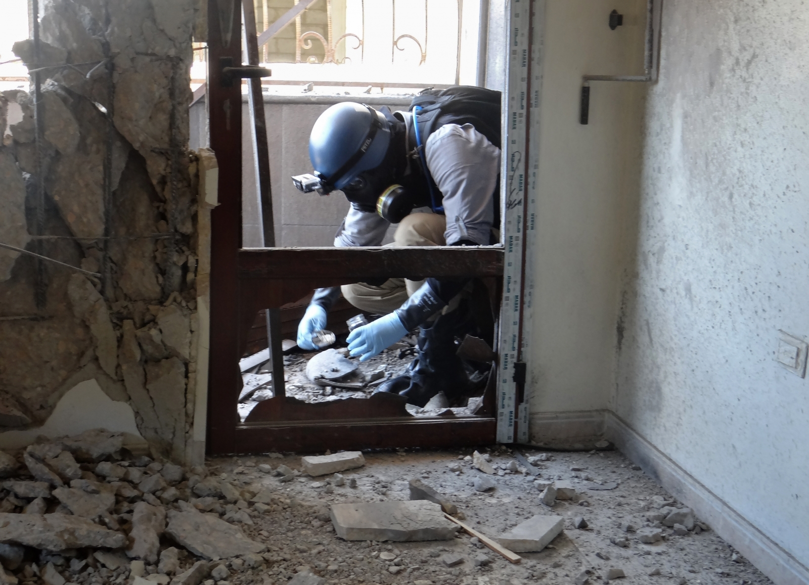 UN expert Ghouta sarin attack