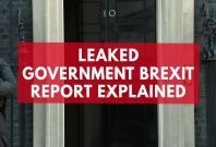 Leaked Report Says U.K. Will Suffer In Every Brexit Scenario