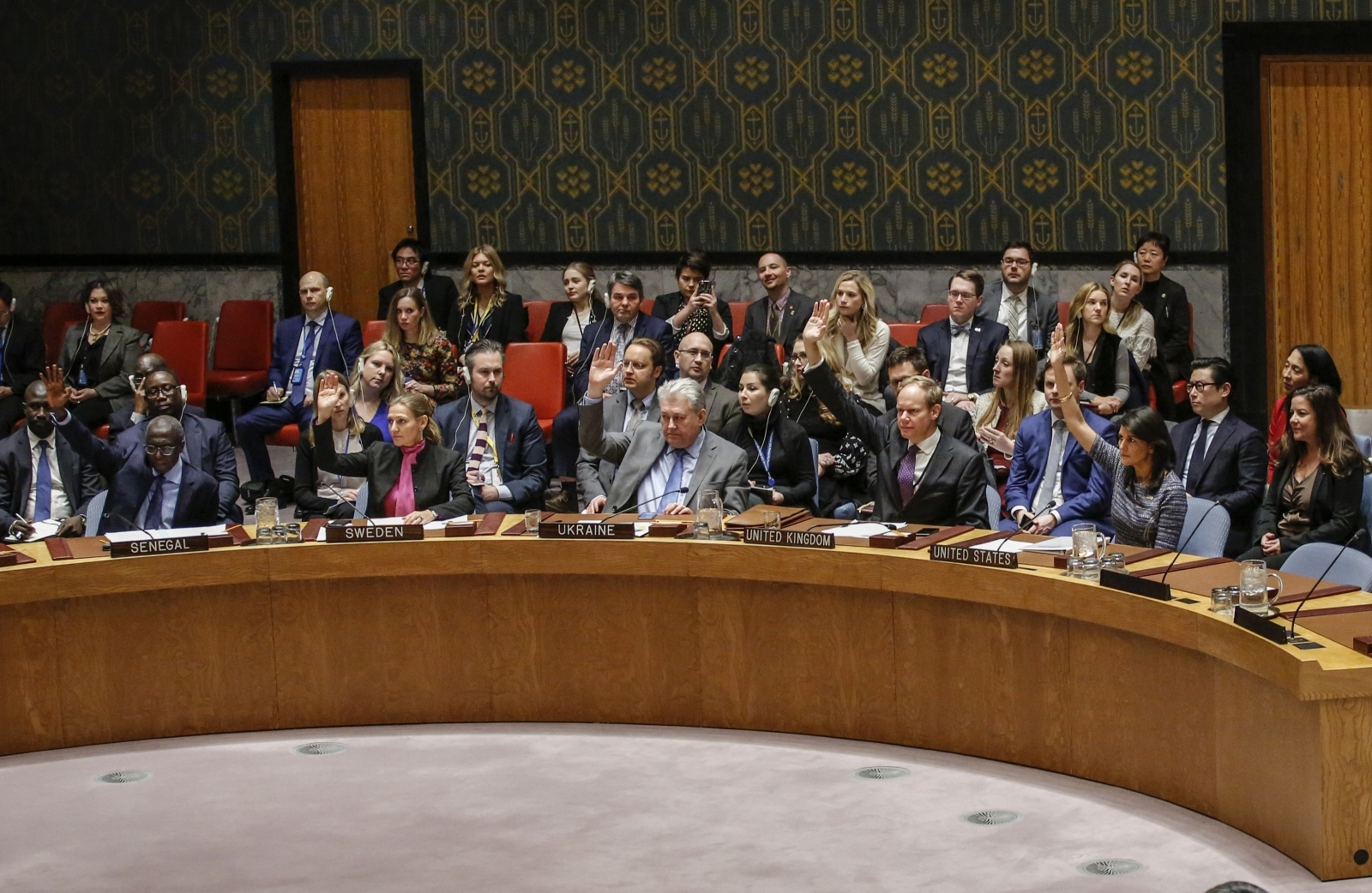 UN Security Council on North Korean sanctions