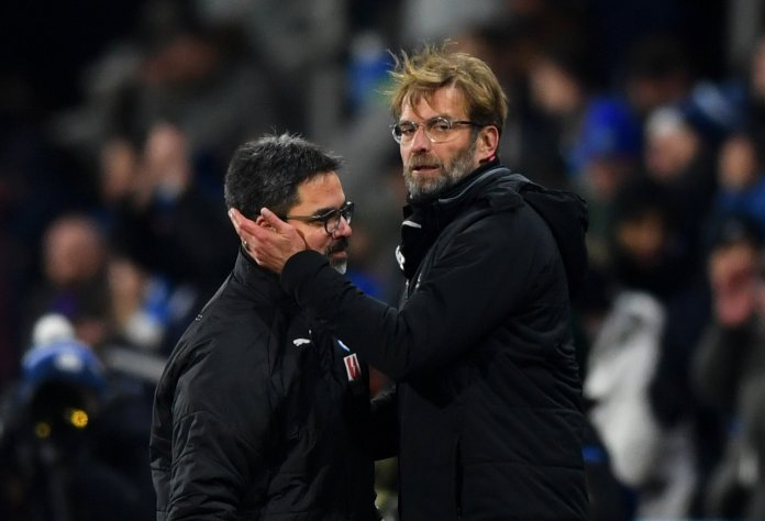 David Wagner and Jurgen Klopp
