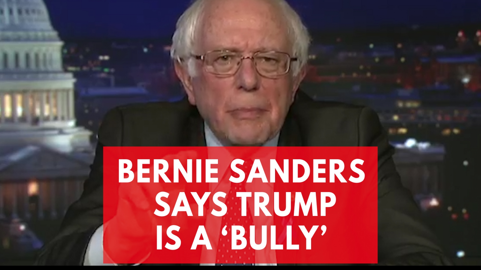 Bernie Sanders Says Trump Is A 'Bully' After The State Of The Union