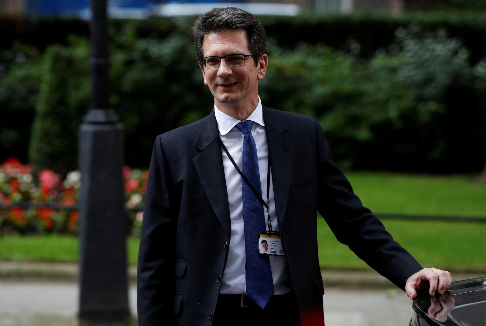 Steve Baker Brexit under-secretary