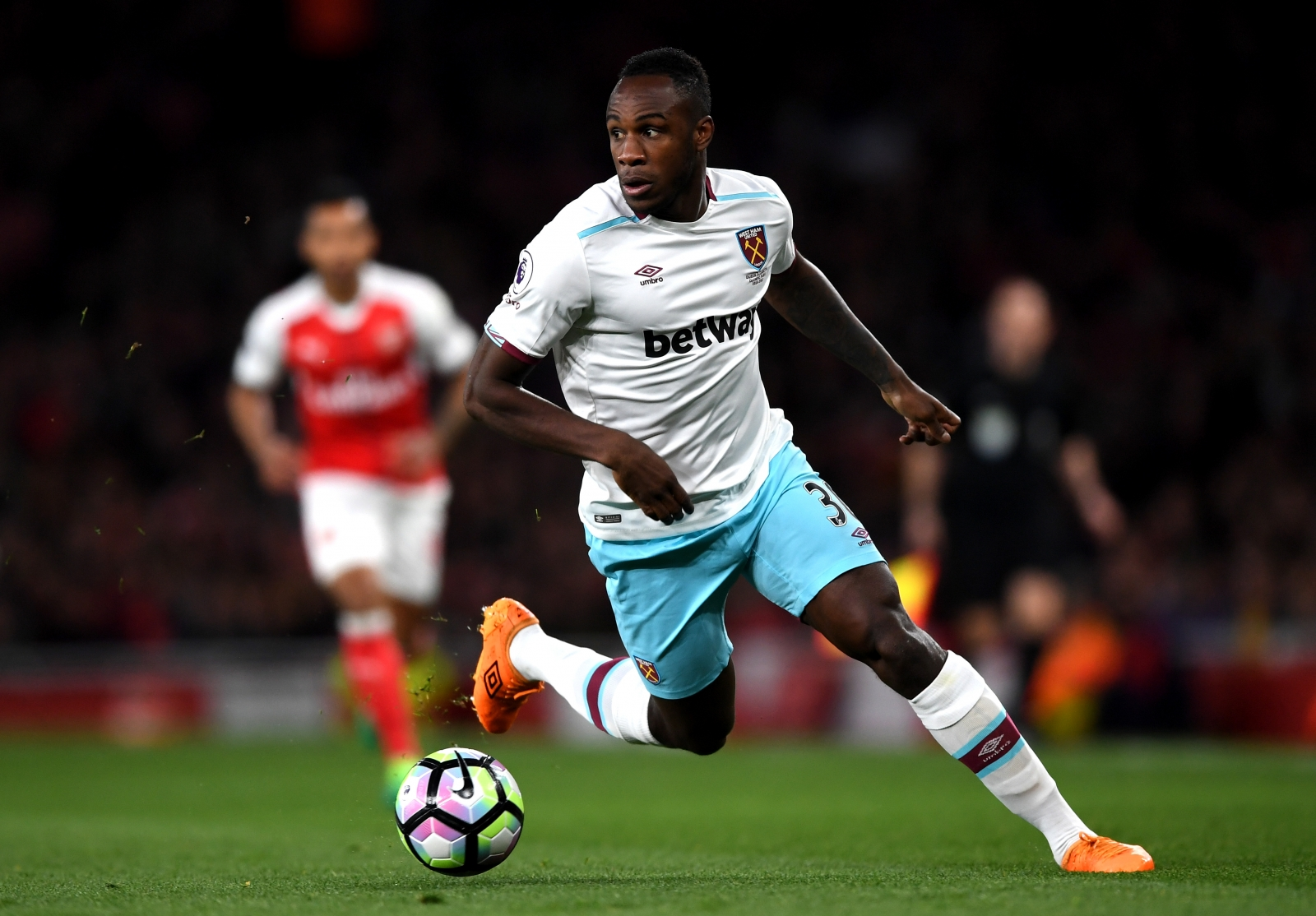 Moyes: Michail Antonio dropped against Crystal Palace for 'disciplinary reasons'