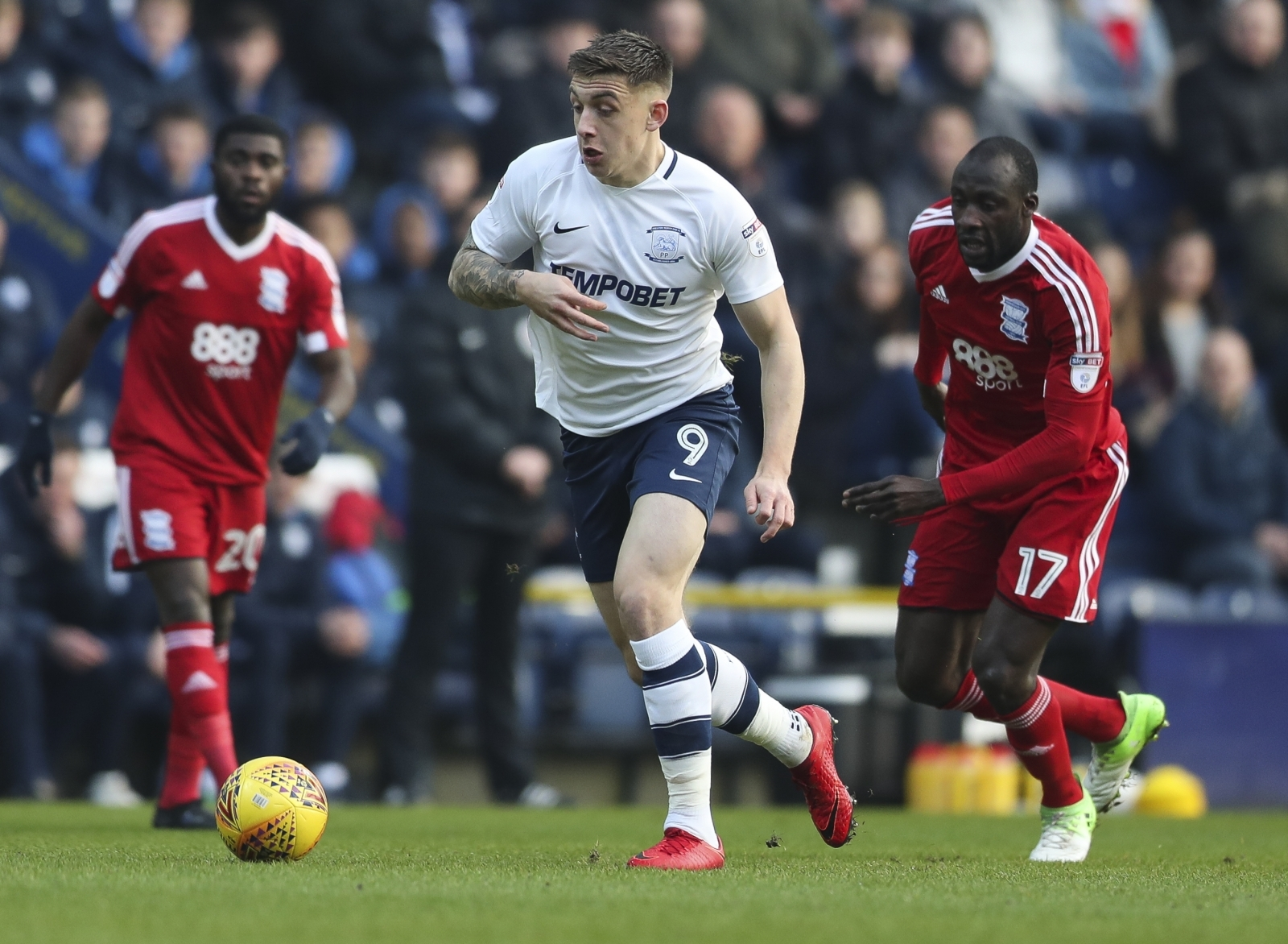 PNE have their say on Jordan Hugill speculation