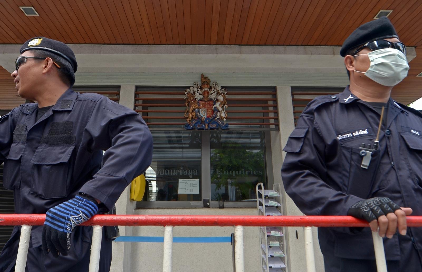 UK embassy Bangkok