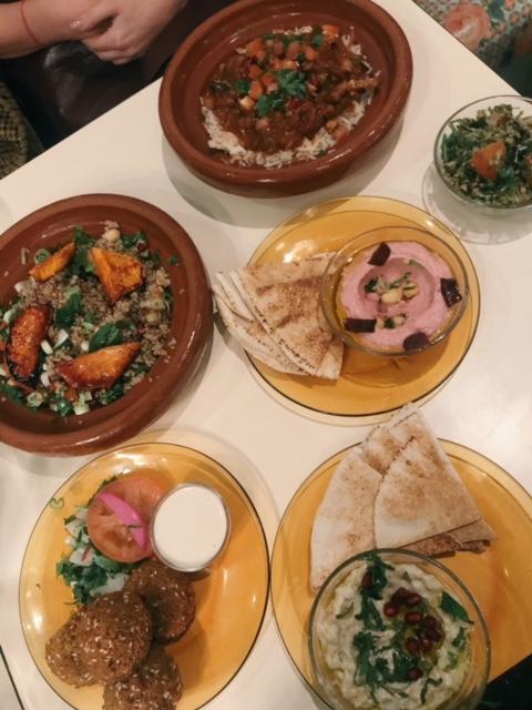 Lebanese vegan food
