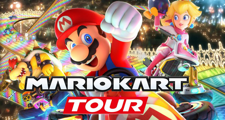 Mario Kart Tour for mobile devices announced by Nintendo