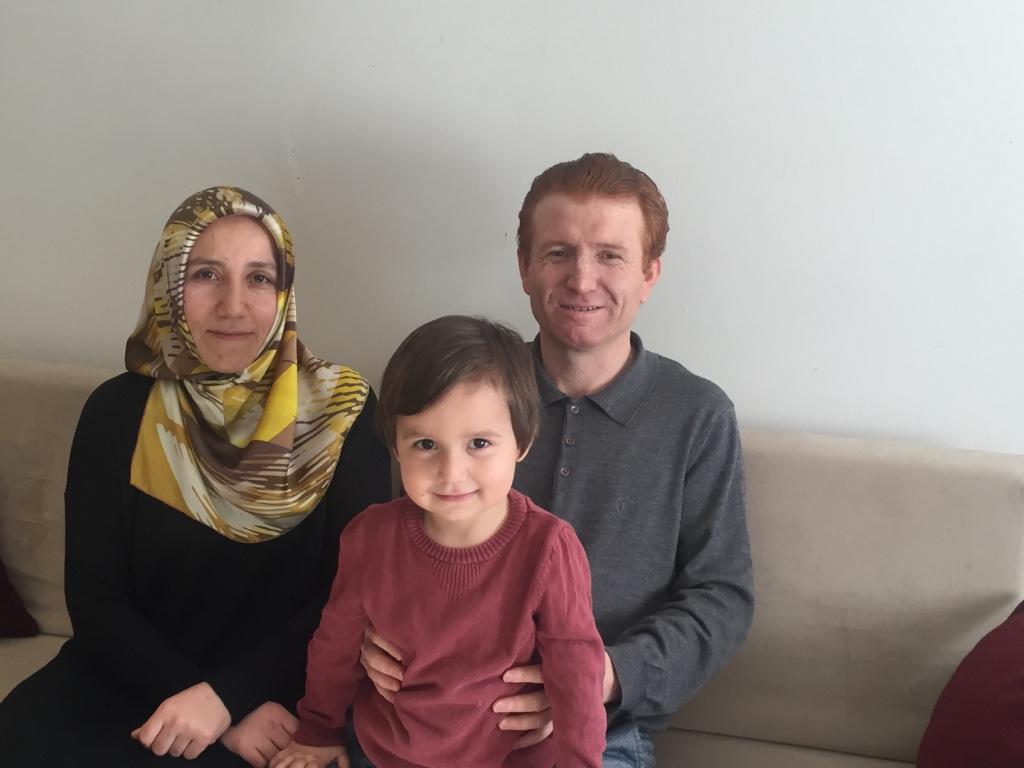 Mustafa Semra Turkish refugees