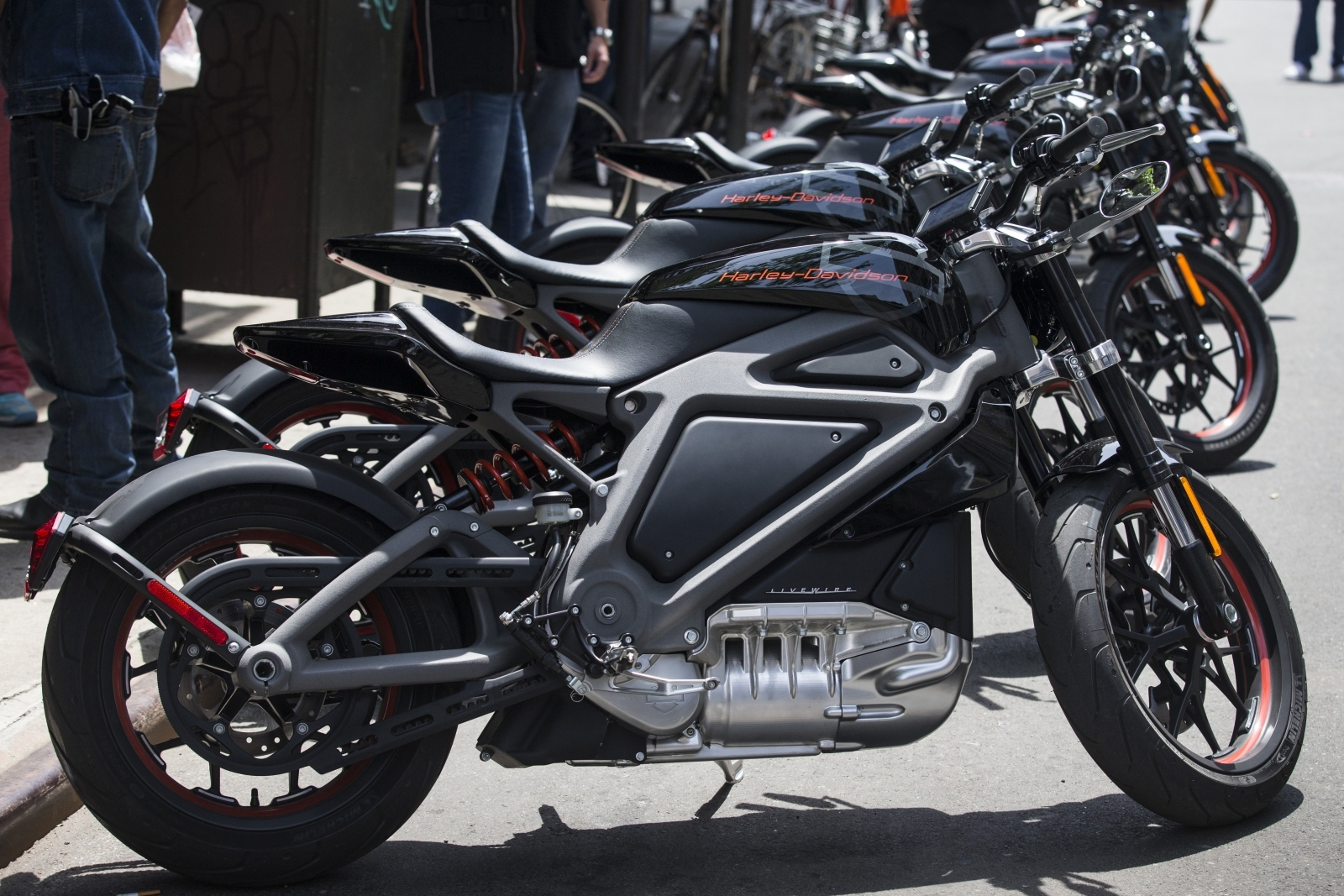 the sound of silence: harley-davidson rebels with an electric motorcycle