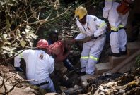South Africa illegal gold miners rescued
