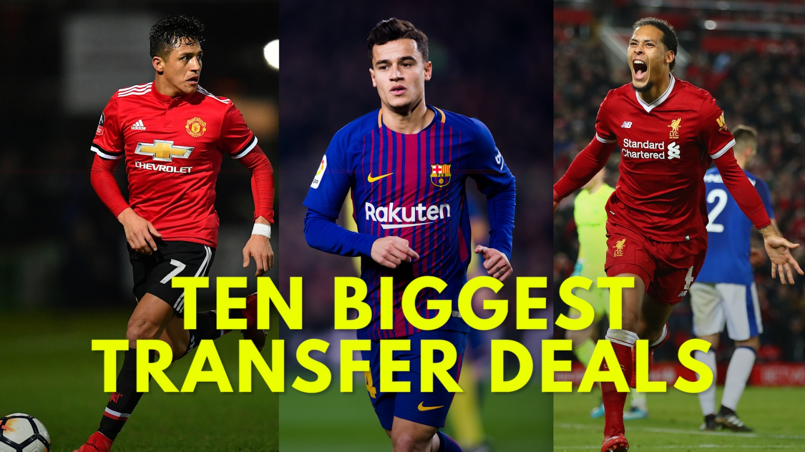 Ten Biggest Premier League January Transfer Deals Of 2018