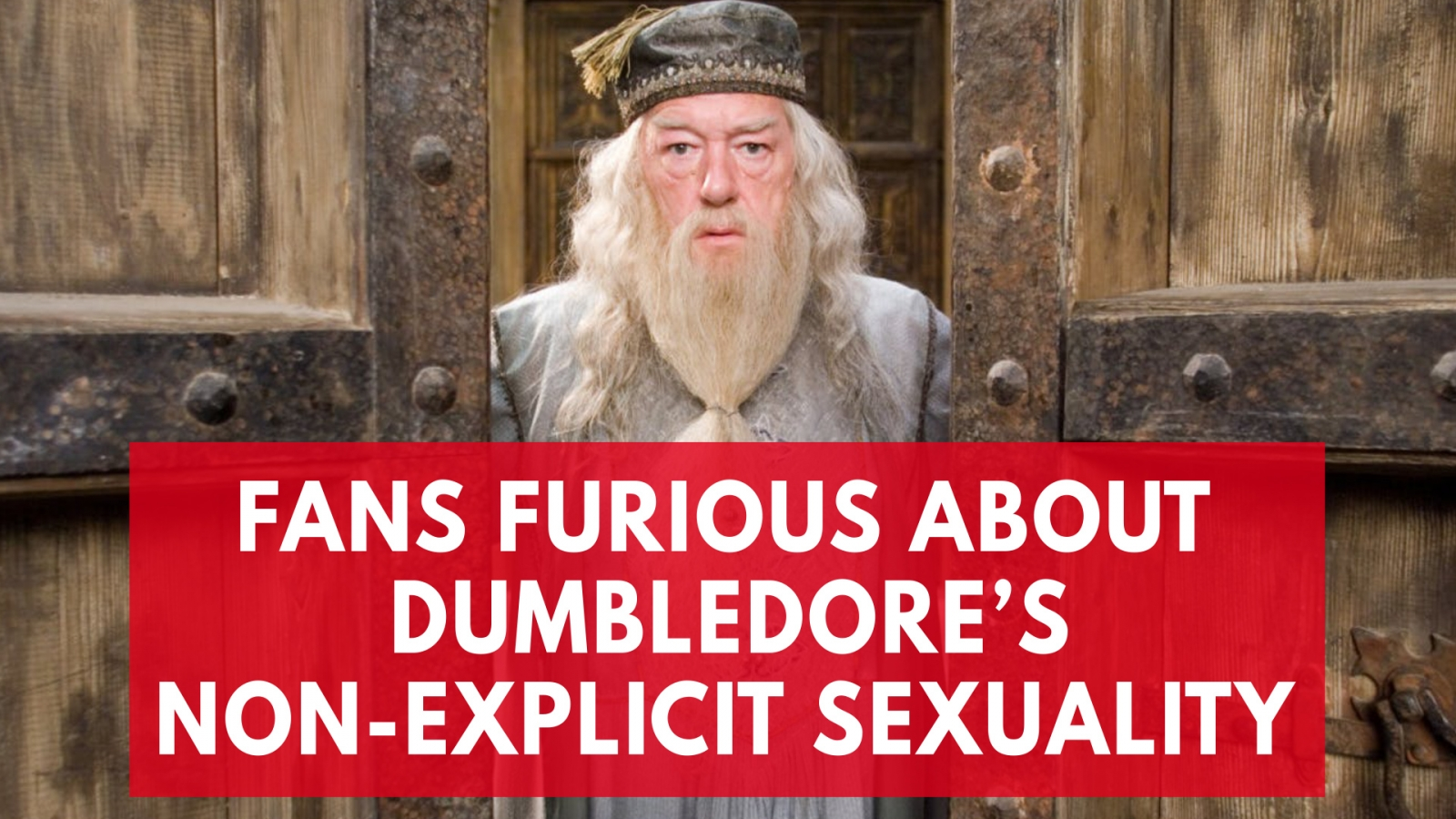 Fans are outraged Dumbledore won't be made explicitly gay in the new Fantastic Beasts movie