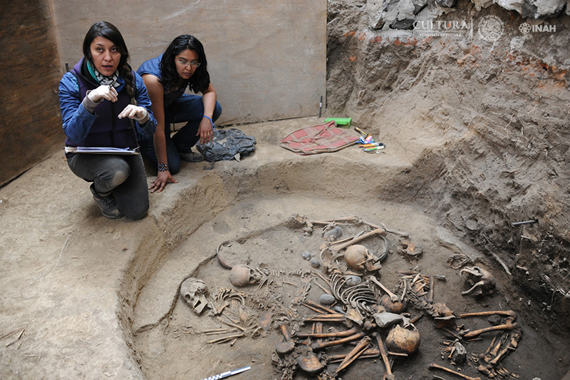 Mexican burial site