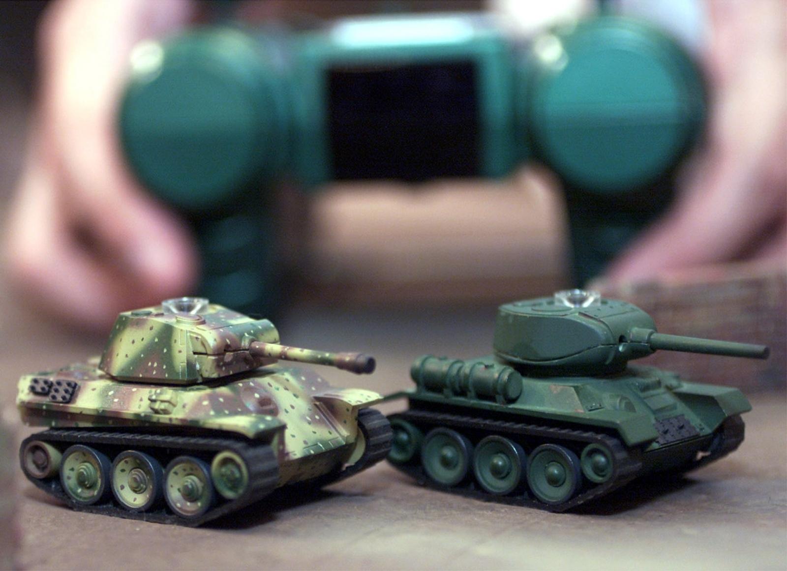 Russia mini robots