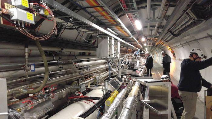 Odderon - Large Hadron Collider