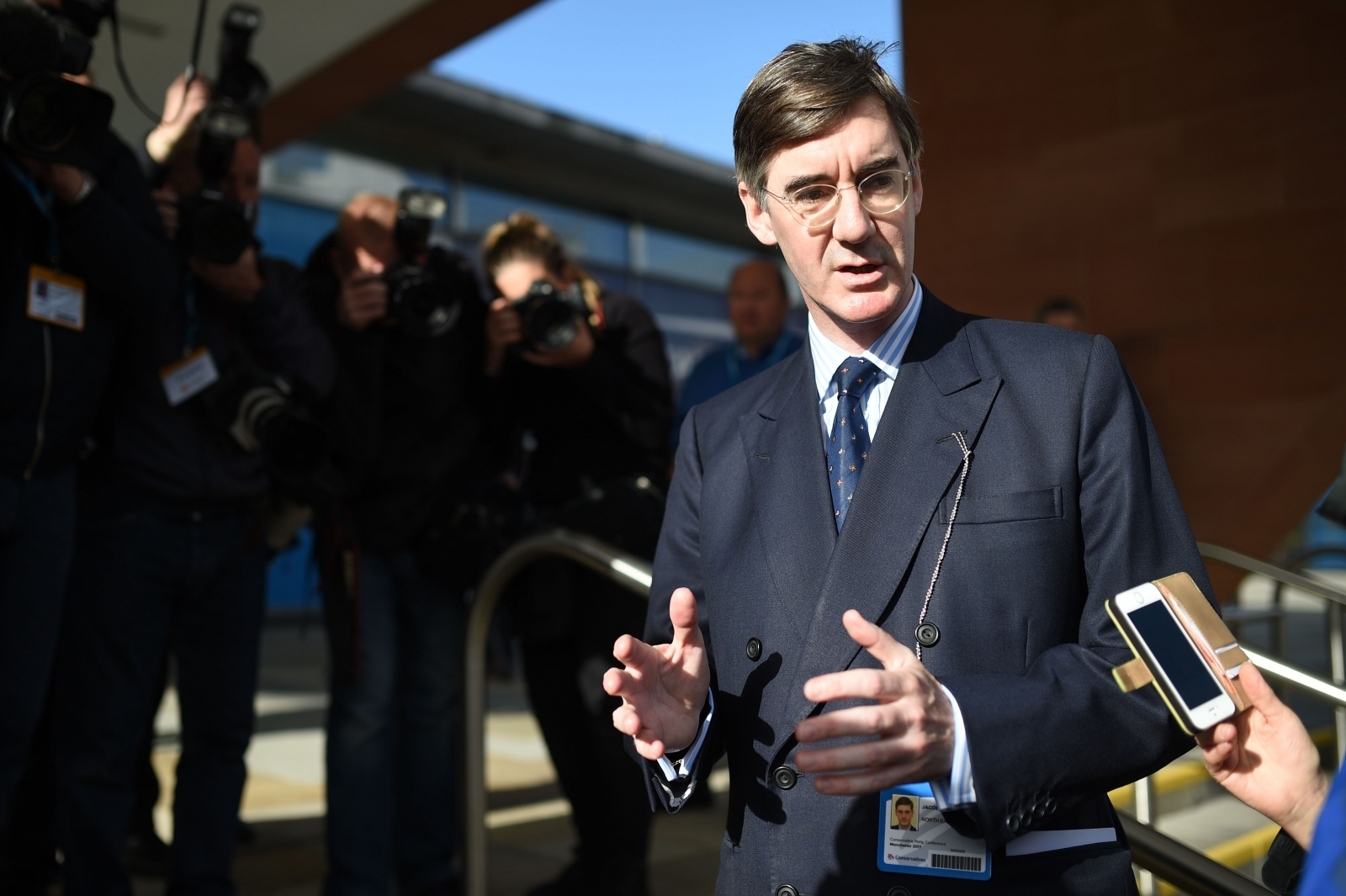 Jacob Rees-Mogg Conservative Party conference