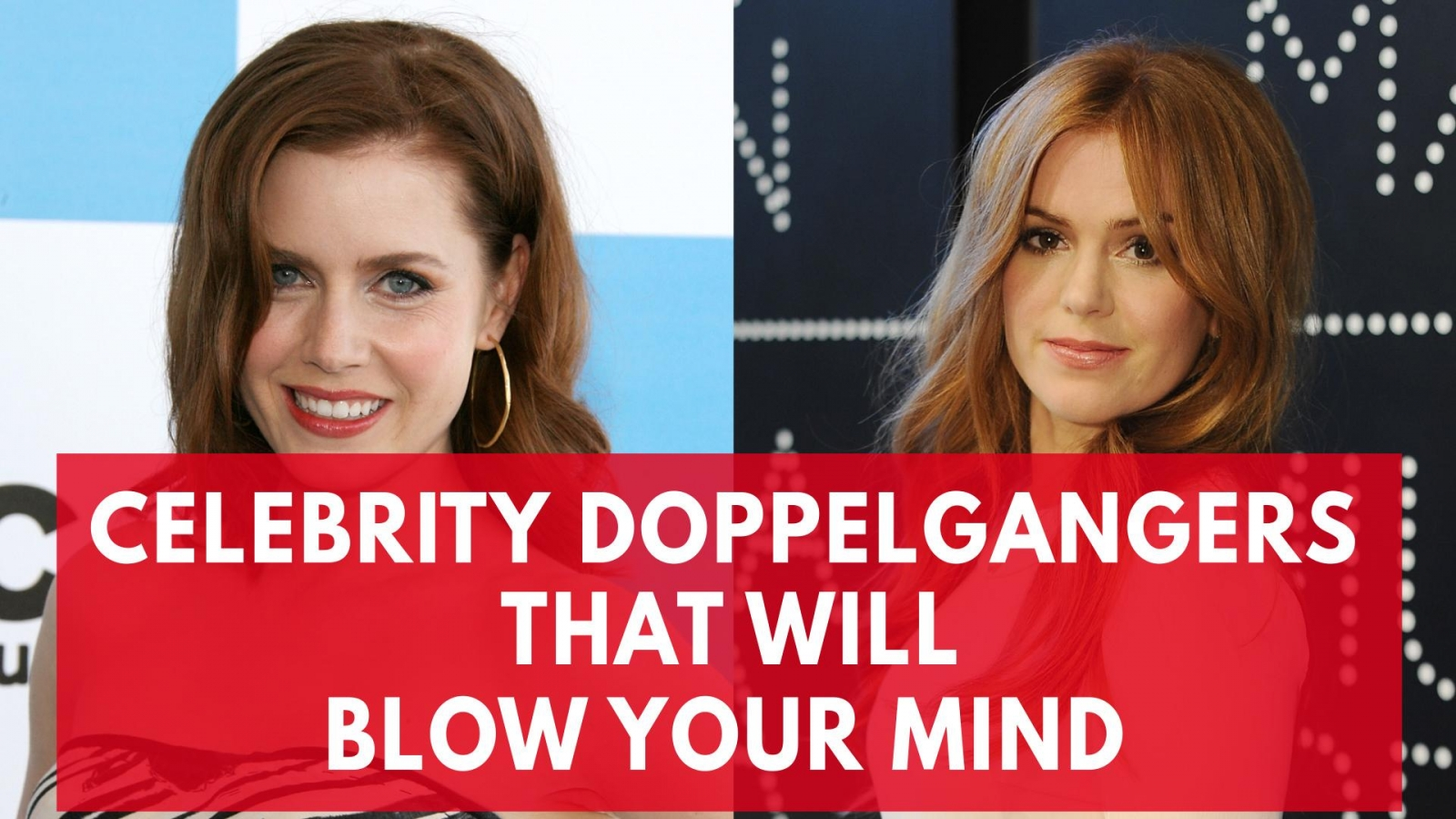 Celebrity dopplegangers that will blow your mind