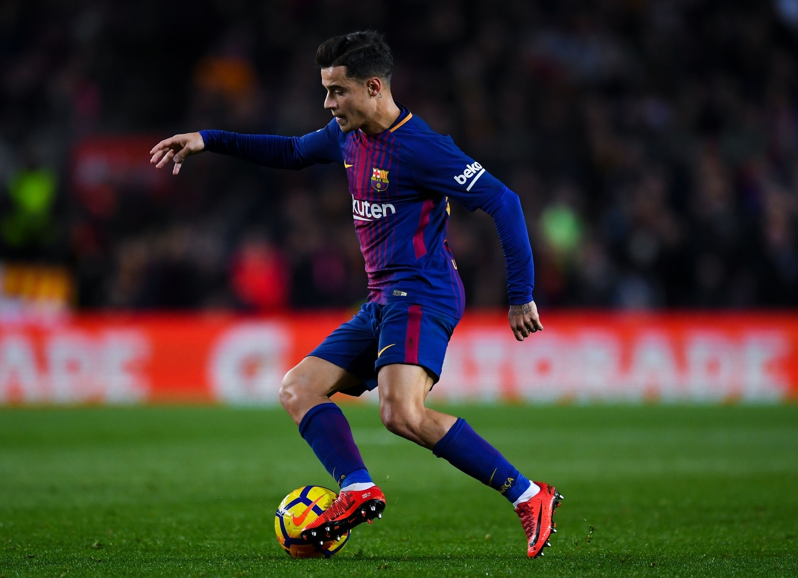barcelona s january signing philippe coutinho is not