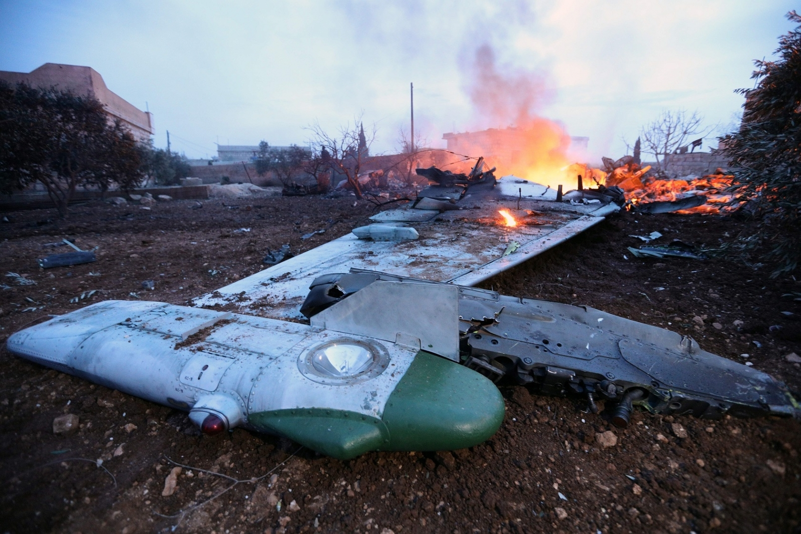Russian jet shot down in Syria