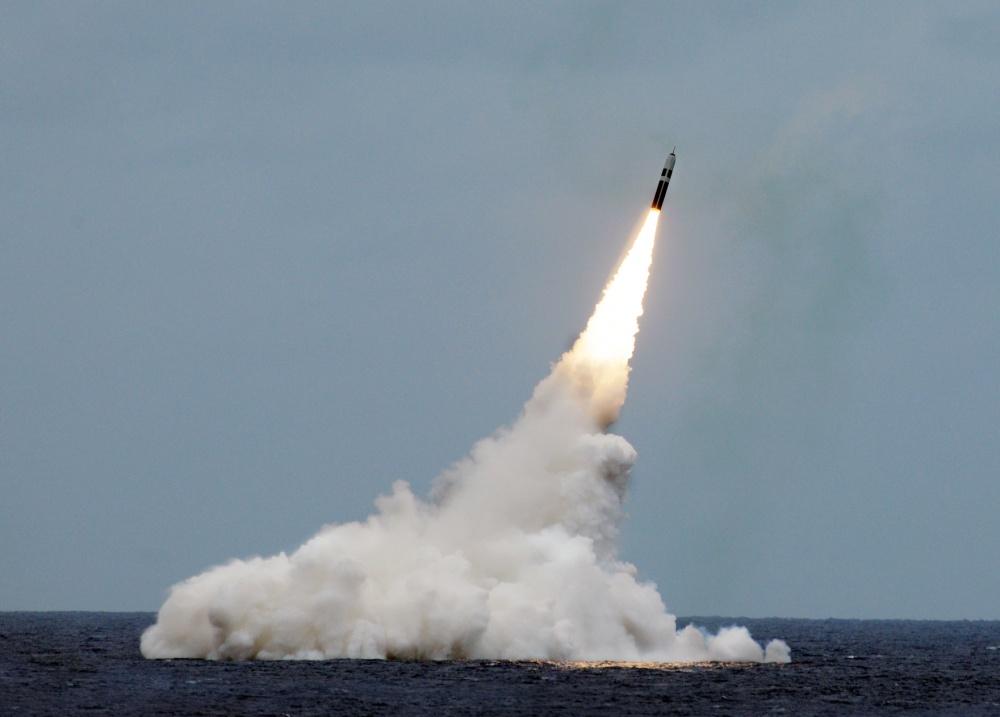 Trident II D5 ballistic missile