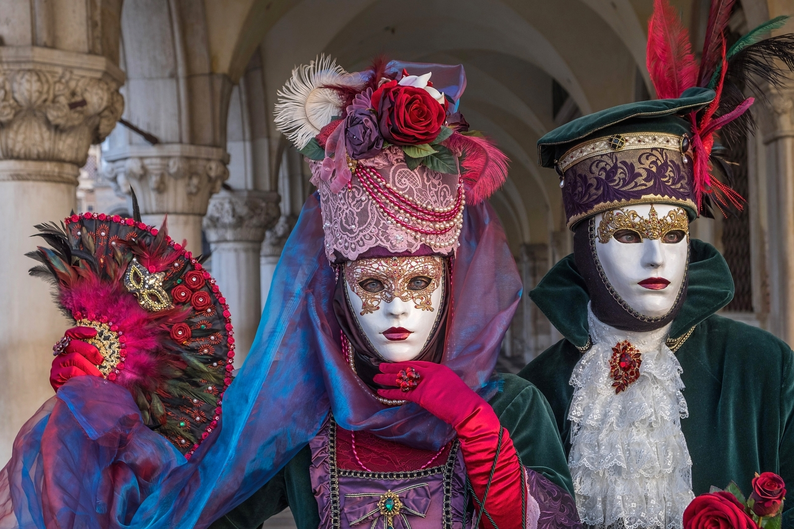 Venice Carnival 2018 best costumes  sc 1 st  IBTimes UK & Venice Carnival 2018 photos: Best costumes and masks at this yearu0027s ...