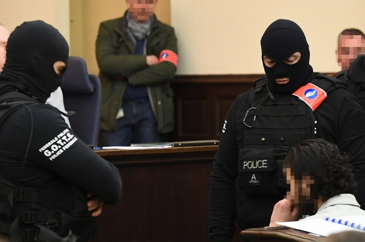 Salah Abdeslam on trial in Brussels