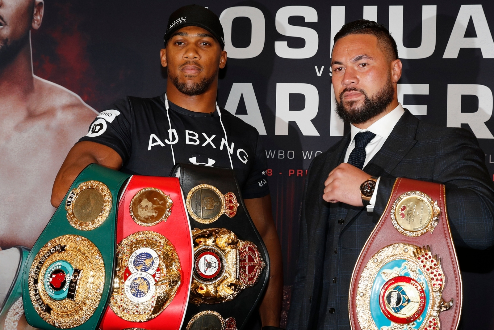 Anthony Joshua and Joseph Parker