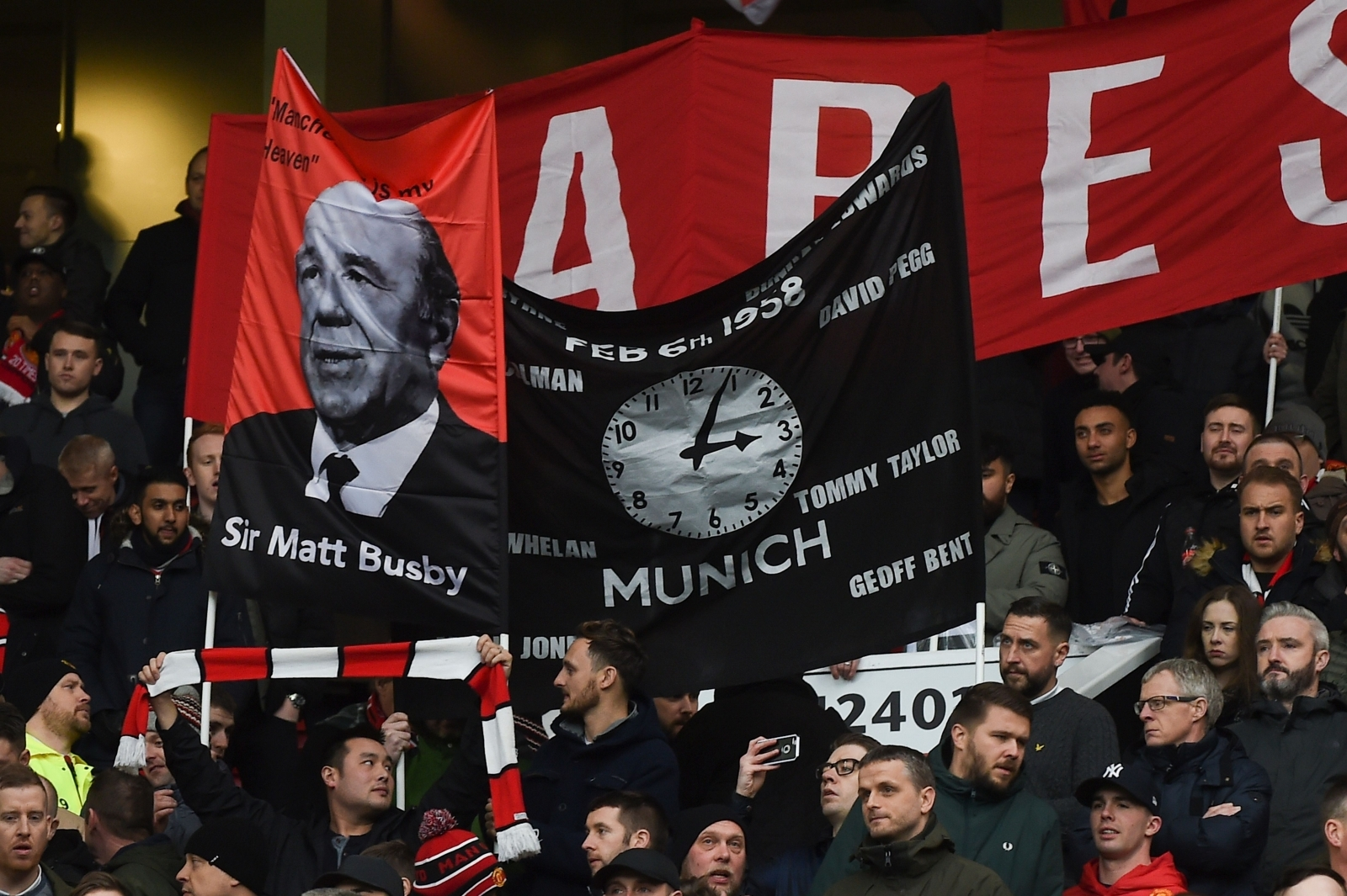 Sir Alex Ferguson's tribute to the Busby Babes