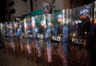 Maldives chaos