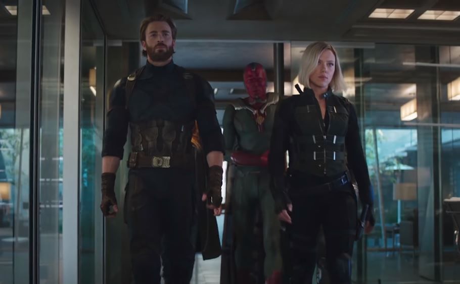 captain marvel infinity war trailer