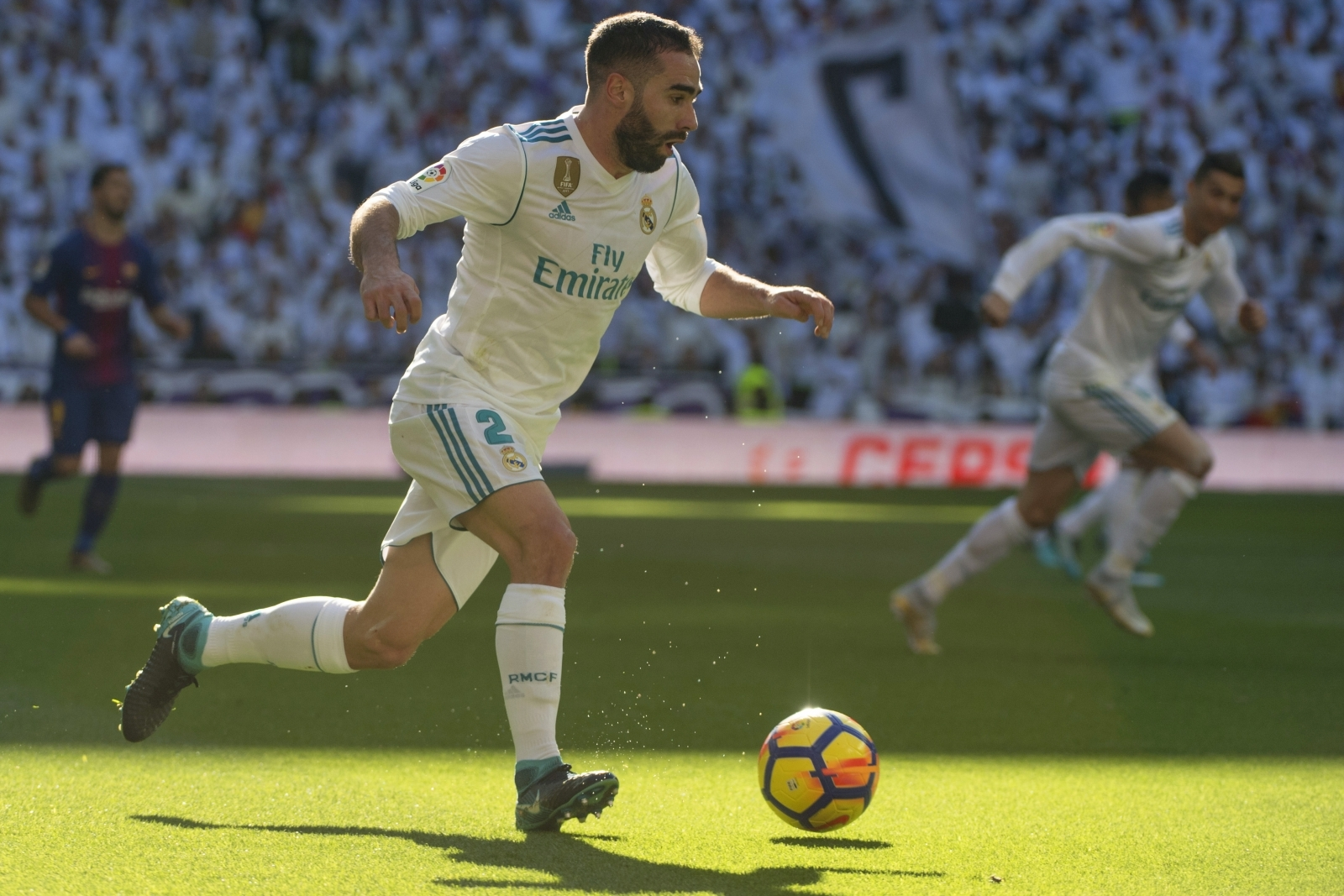Real Madrid's Dani Carvajal to miss Champions League clash with PSG