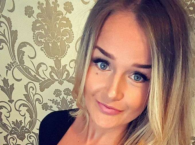"""Molly McLaren, 23, died in a """"frenzied"""" attack with a kitchen knife after her former boyfriend, Joshua Stimpson, stabbed her 75 times"""