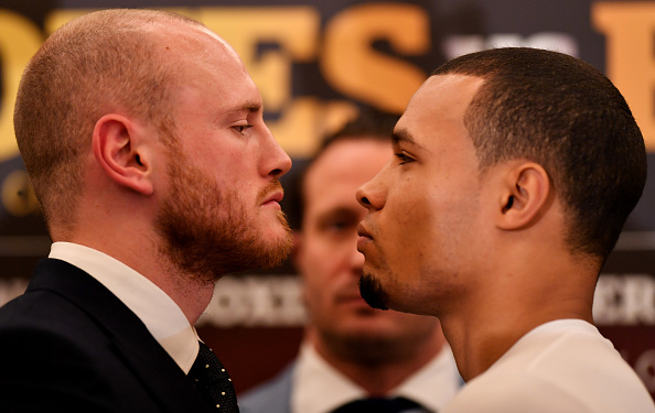George Groves and Chris Eubank Jr