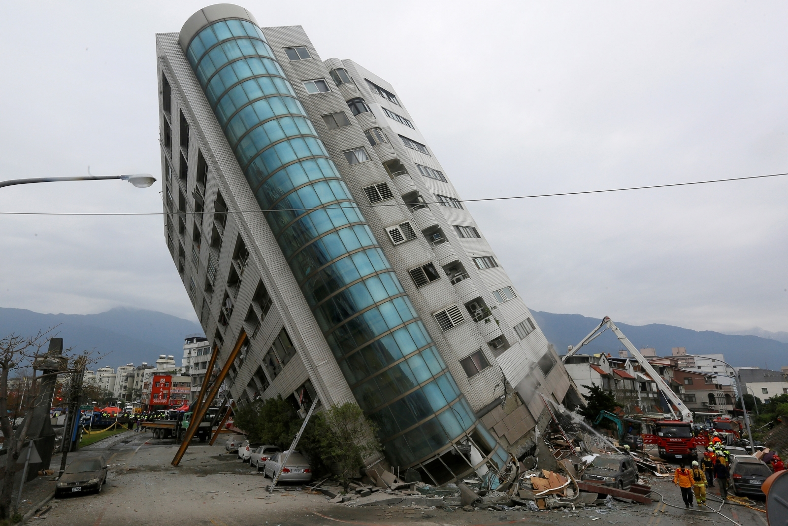 Taiwan earthquake
