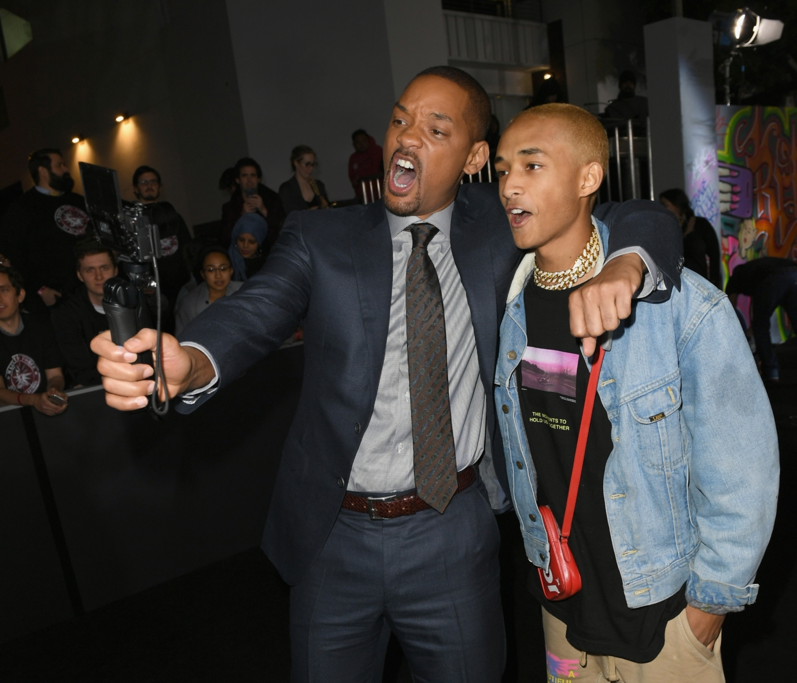 Jaden Smith's video for 'Icon' recreated by his dad Will