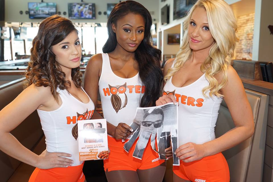Hooters Shred Your Ex