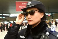 China police using smartglasses