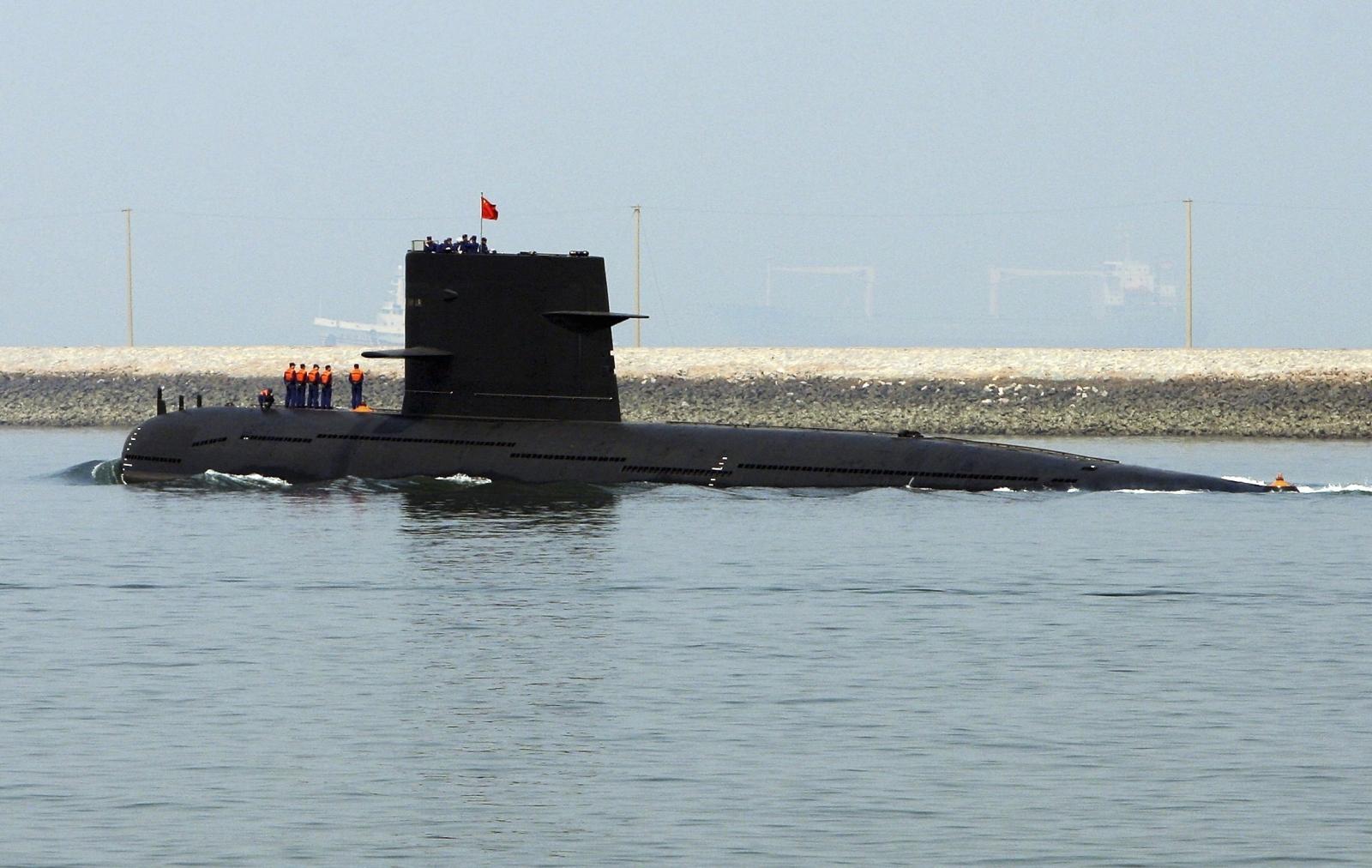 China nuclear submarine