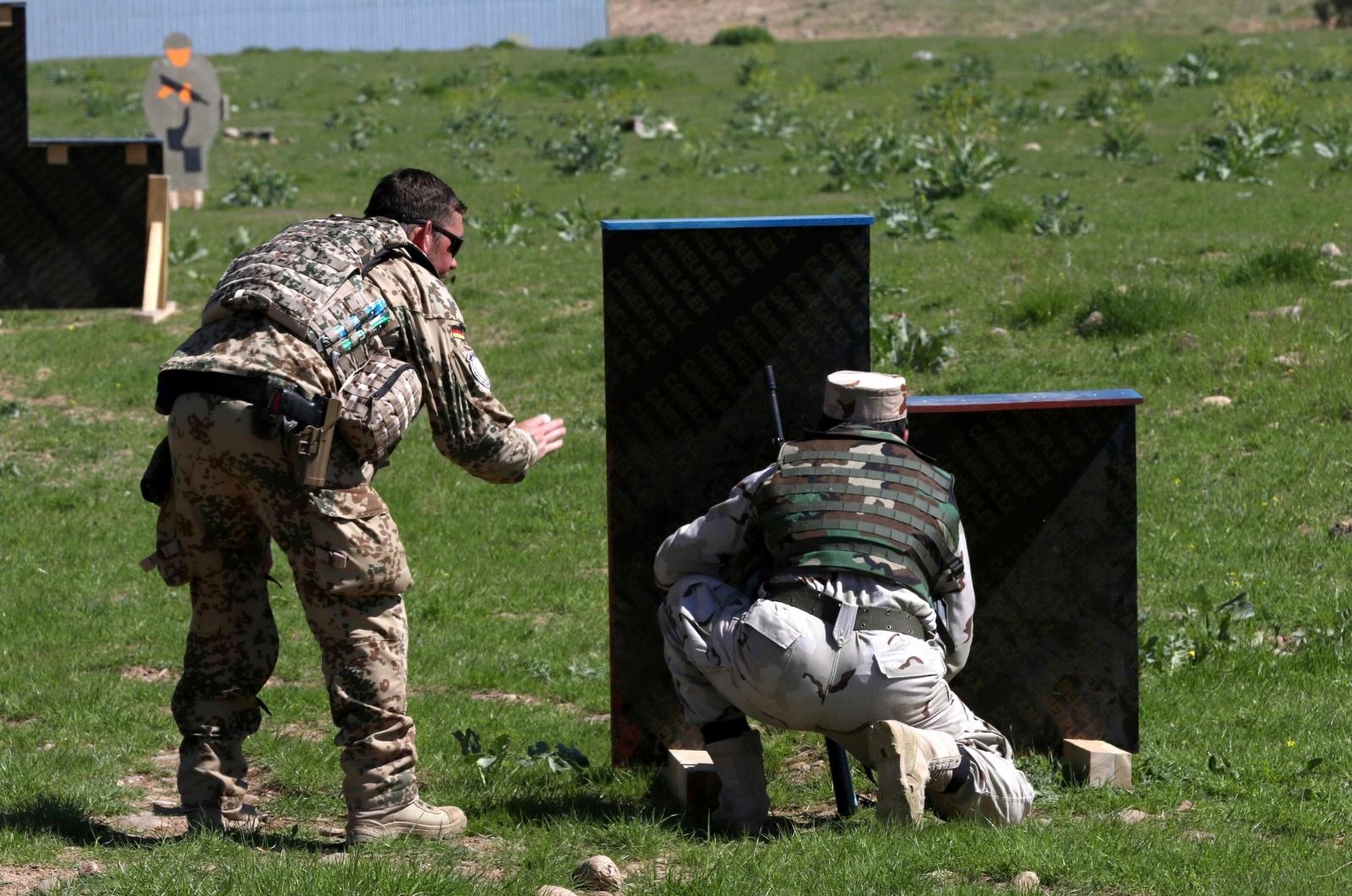 German military trainers Kurdish forces