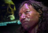 First Briton Had 'Dark to Black' Skin