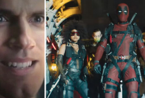 Deadpool 2 Justice League Moustache Henry Cavill