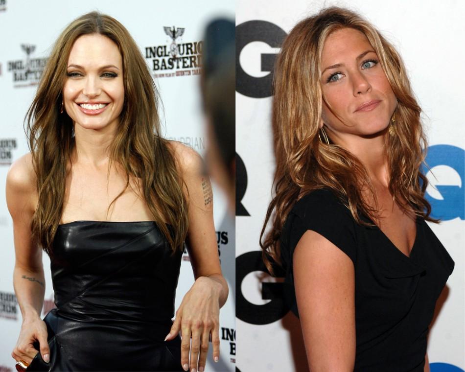 Jennifer Aniston Versus Angelina Jolie Whos Hotter