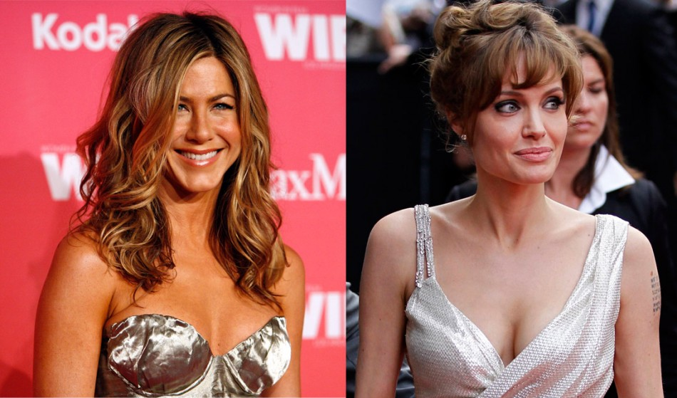Jennifer Aniston Versus Angelina Jolie: Who's Hotter?
