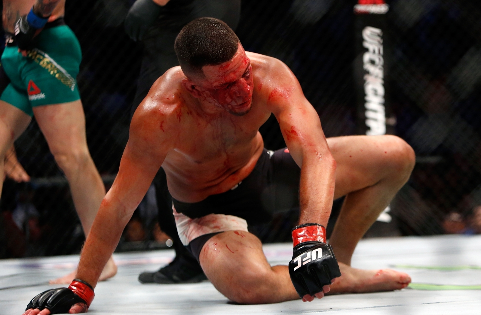 Nate Diaz Confirms He's Aiming For Tyron Woodley Fight