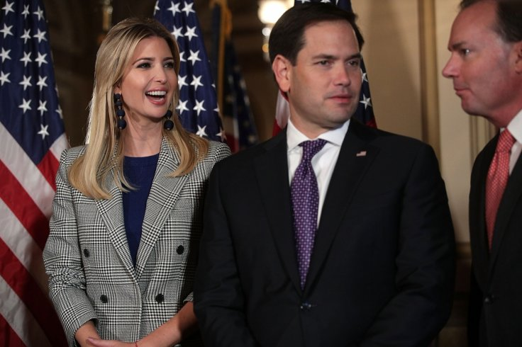 Ivanka Trump Marco Rubio Child Tax Credit