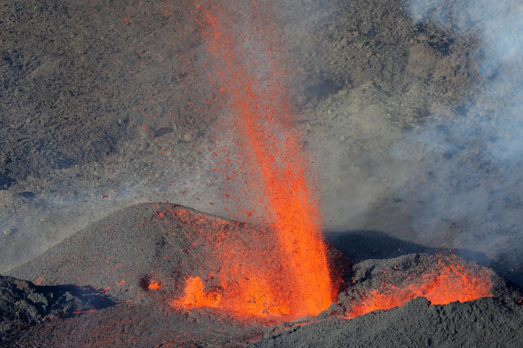 Undersea volcanes