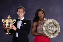 Andy Murray and Serena Williams