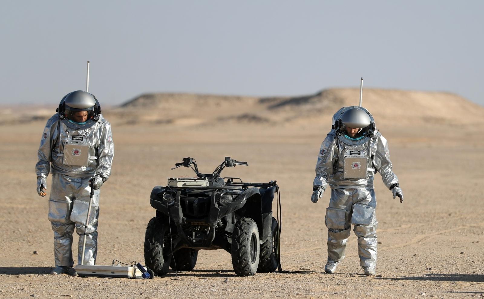 Mars simulation mission