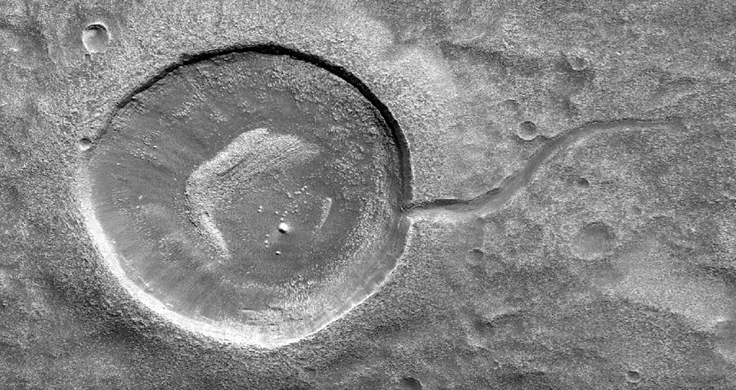 Martian tadpole